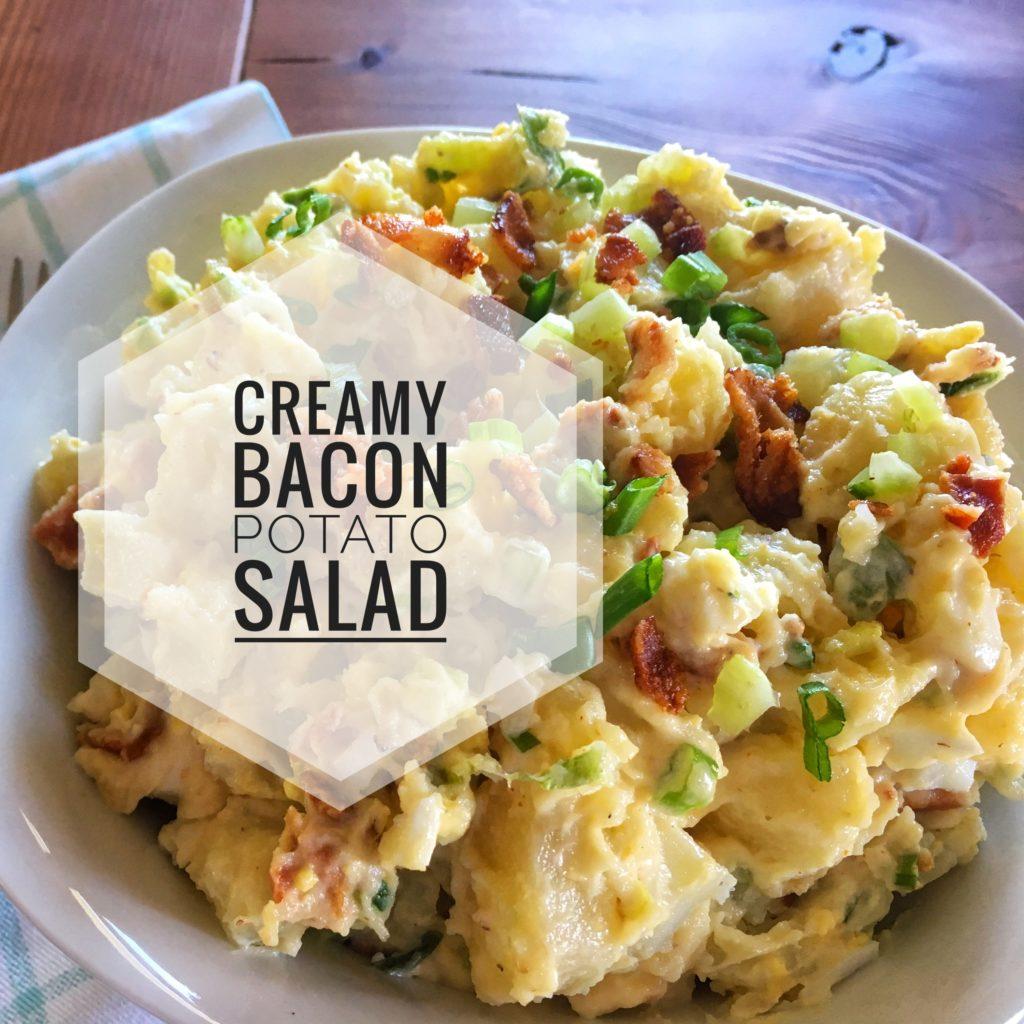 Creamy Bacon Potato Salad — Mushki Loves